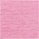 RICO CREATIVE COTTON ARAN SMOKEY PINK