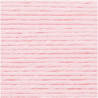 RICO CREATIVE COTTON ARAN ROSE