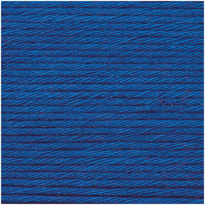RICO CREATIVE COTTON ARAN ROYAL