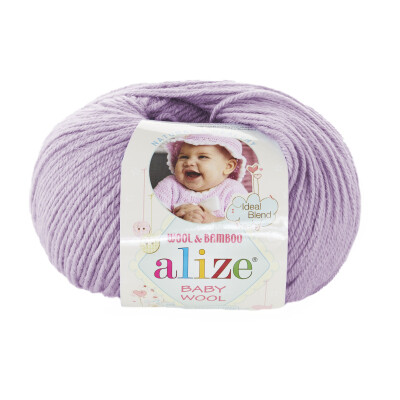 ALIZE BABY WOOL 146 LILAC