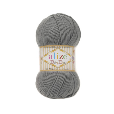 ALIZE BABY BEST 344 GREY