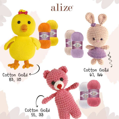 ALIZE COTTON GOLD