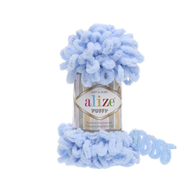 ALIZE PUFFY 183 LIGHT BLUE