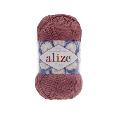 ALIZE MISS 468 MAROON ROSE