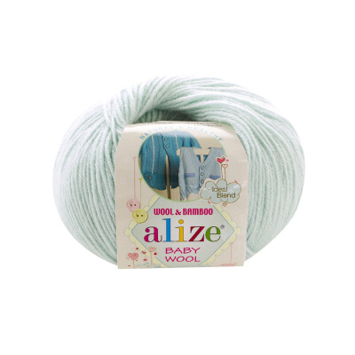 ALIZE BABY WOOL 522 LIGHT AQUA