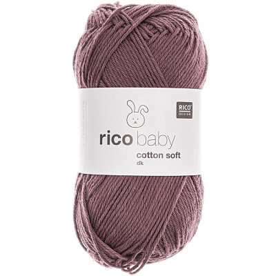 RICO BABY COTTON SOFT DK PFLAUME