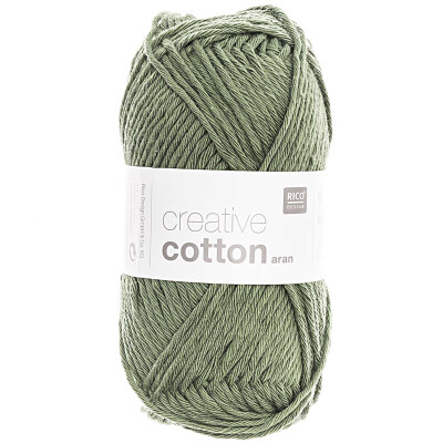 RICO CREATIVE COTTON ARAN EFEU