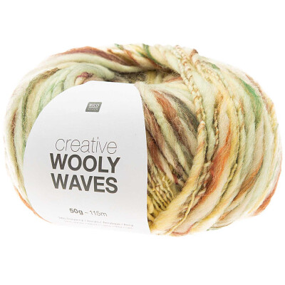 RICO CREATIVE WOOLY WAVES MINT