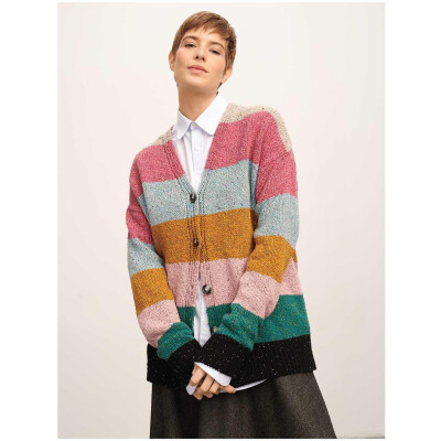 RICO FASHION MODERN TWEED ARAN BEERE
