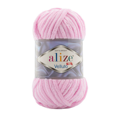 ALIZE VELLUTO 31 BABY PINK